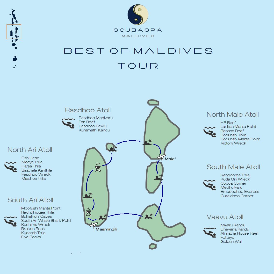 Malediven Karte Atolle.Route Floating Resort By Scubaspa Holiday Maldives Dive And Spa