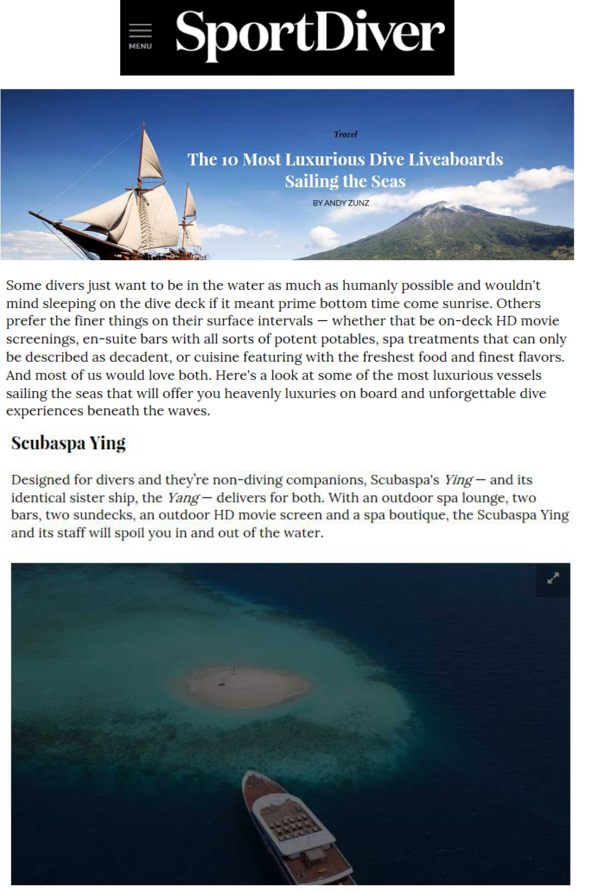 Press - Floating Resort by Scubaspa | Holiday Maldives